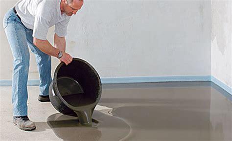 betonfußboden selber machen flussiger bodenbelag tolle boden ausgleichen 28339 haus