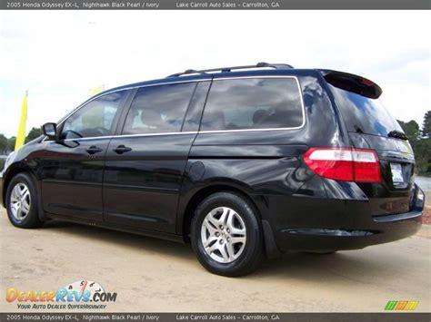 2005 Honda Odyssey Ex L by 2005 Honda Odyssey Ex L Nighthawk Black Pearl Ivory