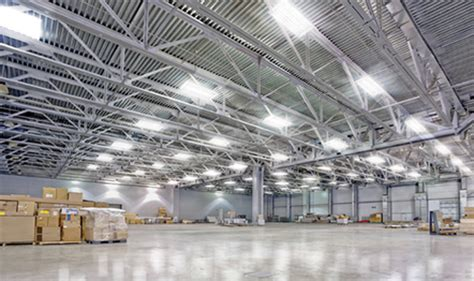 light warehouse commercial led lighting installation and suppliers led