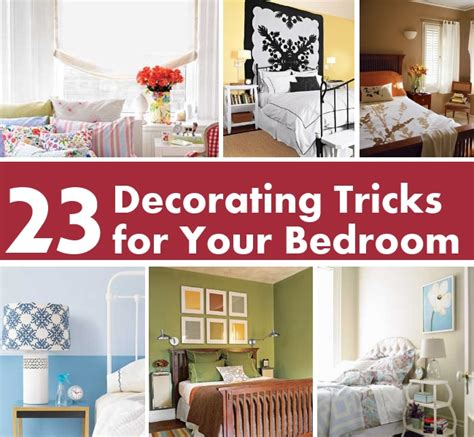 Tricks For The Bedroom by 23 Decorating Tricks For Your Bedroom Diy Home Things
