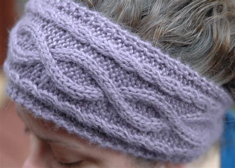 ear warmer knitting pattern 6 simple yet cable knit headband patterns sizzle