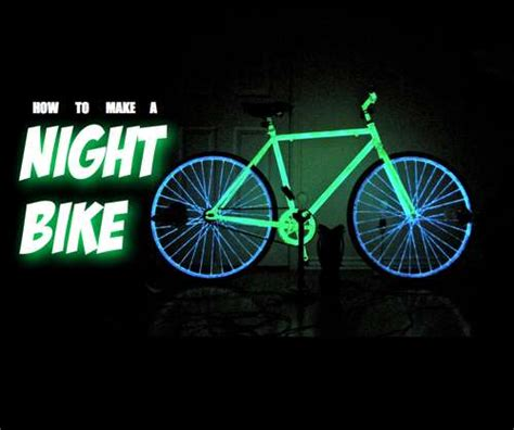 glow in the bike paint volvo how to make your bike glow in the for safer