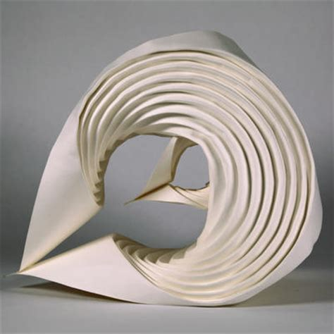 erik demaine origami curved crease sculpture by erik and martin demaine