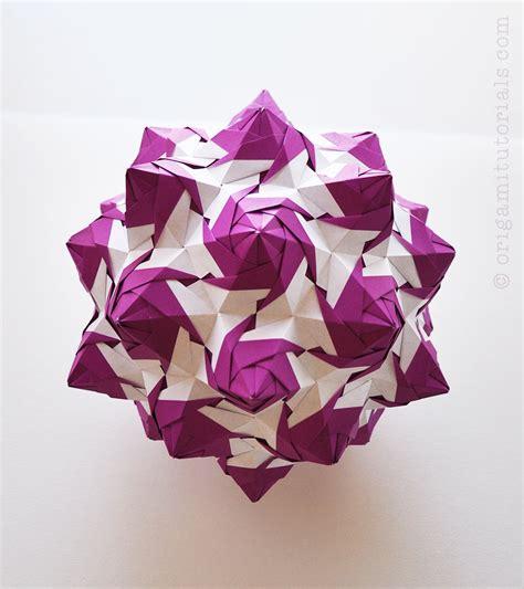 kusudama origami torch kusudama tutorial origami tutorials