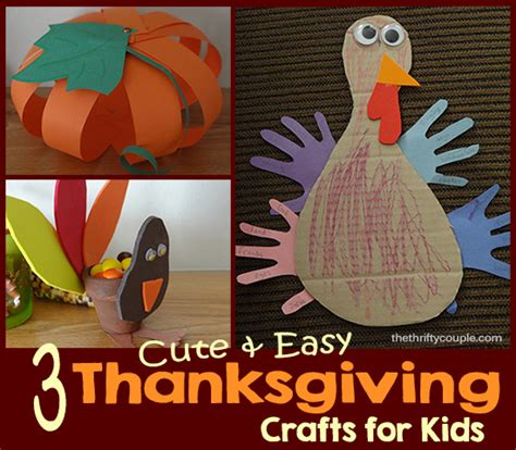 easy turkey crafts for 3 and easy thanksgiving crafts for turkey treat