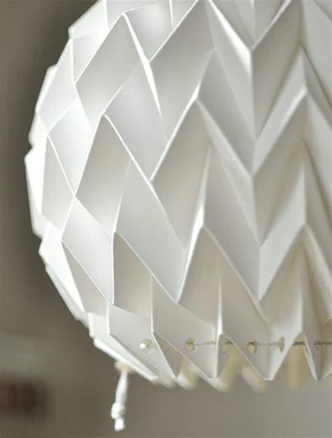 how to make origami lshade origami paper l shade white fiberstore by