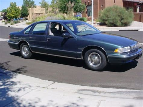 automobile air conditioning repair 1996 chevrolet caprice classic transmission control buy used 1996 chevrolet caprice classic 4 door sedan in albuquerque new mexico united states