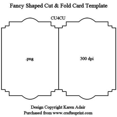 how to make shaped cards fancy shaped cut fold card template cup328982 168
