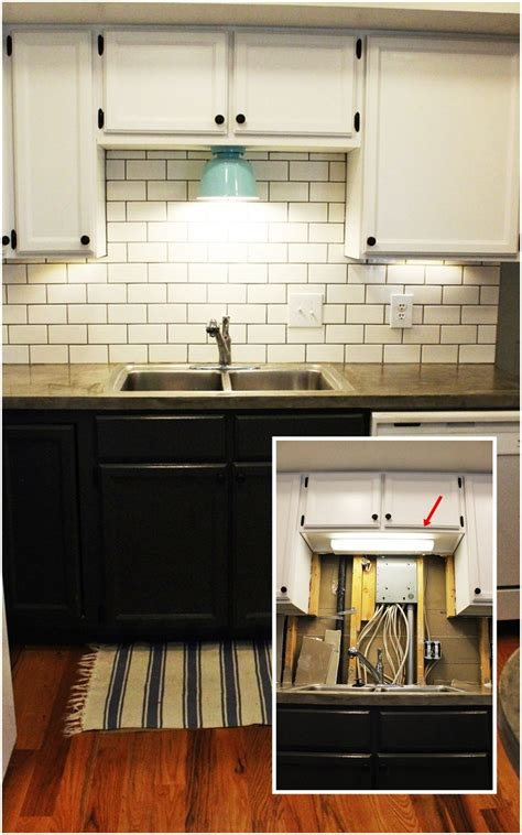 kitchen cabinet light diy kitchen lighting upgrade led cabinet lights