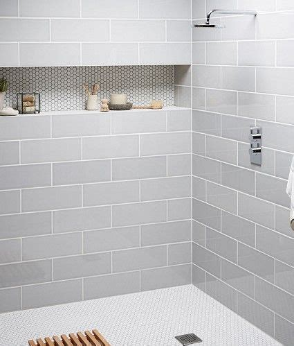 Large White Tiles For Bathroom by Best 25 Grey Bathroom Tiles Ideas On Grey