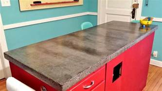 Kitchen Islands With Stove Top awesome concrete countertops design ideas cream marble