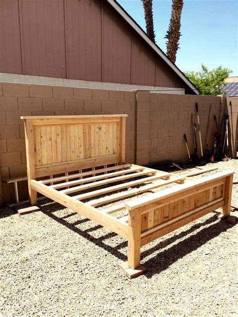 diy bed frame 17 best ideas about king bed frame on king