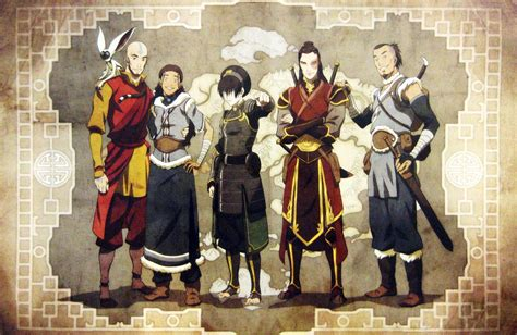 avatar the last airbender gaang avatar the last airbender photo 32155826