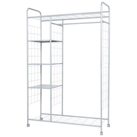clothes rack with shelves cabinet amazing rack and shelving for your home