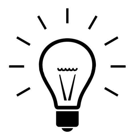 simple light ideas file simple light bulb graphic png