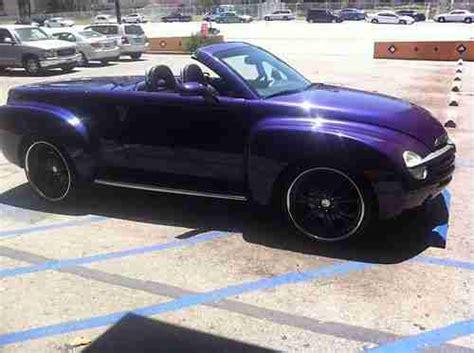 repair anti lock braking 2004 chevrolet ssr engine control buy used 2004 chevy ssr pickup v8 purple color black interior 30 000 miles great conditi in