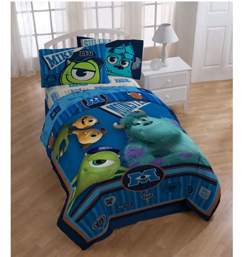 monsters inc bedding set 3pc monsters inc scare bed sheet set
