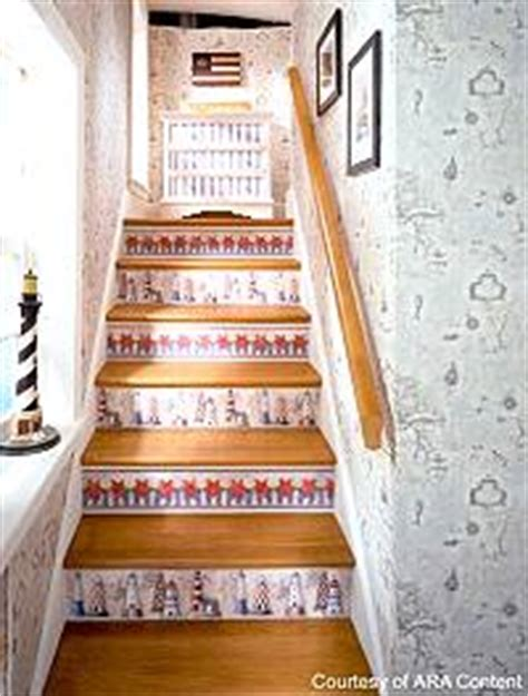 decoupage stairs bedroom tips and ideas for american country comfort
