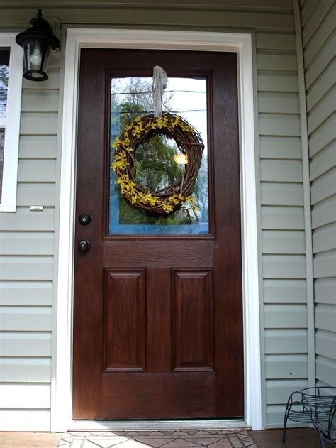 exterior woodwork paint 25 best ideas about front door makeover on