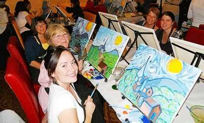 groupon paint nite md things to do in baltimore deals in baltimore md groupon