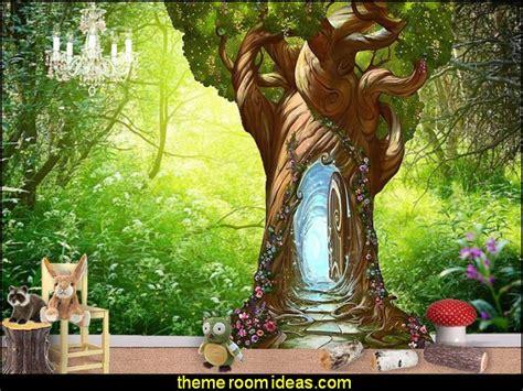 Disney Fairies Wall Mural decorating theme bedrooms maries manor woodland