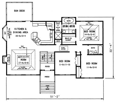 split floor plan split level house floor plans