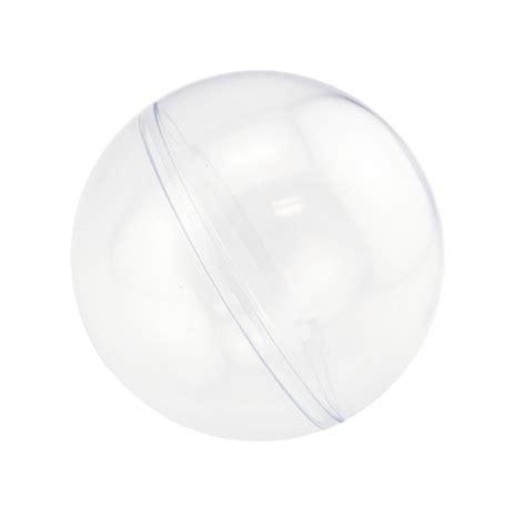 clear plastic clear plastic fillable ornaments favor