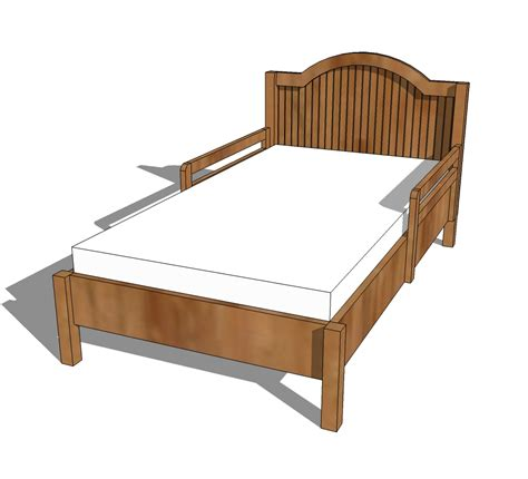 bed woodworking plans woodworking plans free toddler bed plans pdf plans