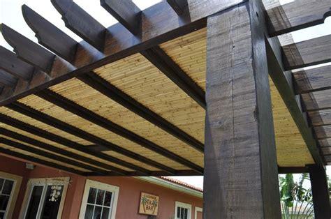 roofing for pergolas pergola with bamboo roofing pergolas