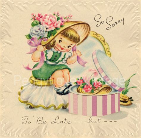 greeting card for children vintage children s birthday greeting card images vol 2 on