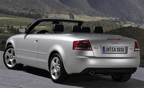 2007 Audi A4 Cabriolet by 2007 Audi A4 Cabriolet Pictures Information And Specs