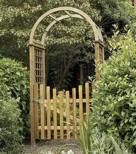 Garden Arch Reclaimed Etrance To Garden Gates Garden Arch With Gate This Is It