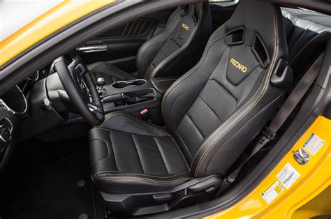 Ford Mustang Seats by 2016 Ford Mustang Gt Test Review Motor Trend