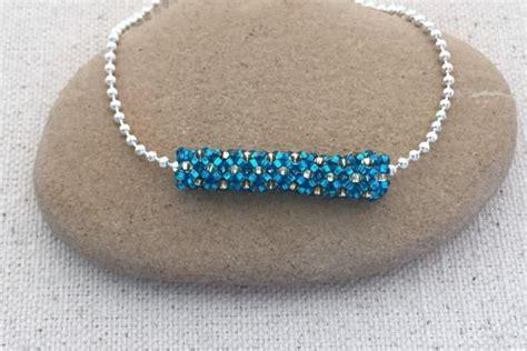 tubular beading stitches tubular netting bead stitch tutorial the o jays