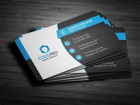 business card creative corporate business card business card templates
