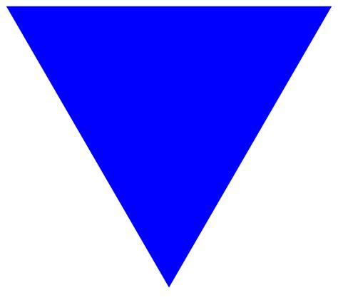 triangle blue file blue triangle svg