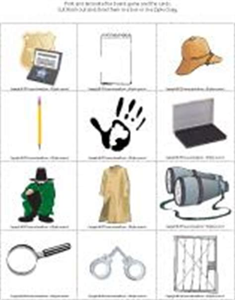 detective crafts for detectives theme and activities educatall