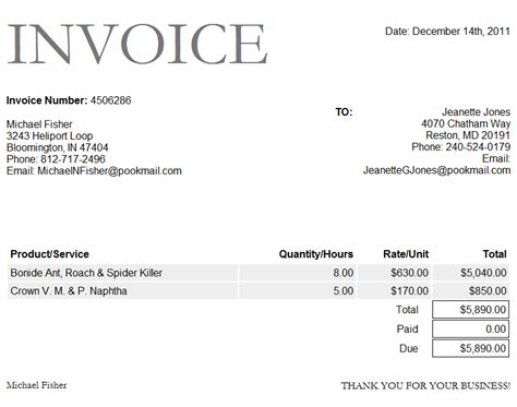 proforma download paid invoice template word invoice example