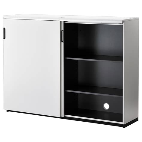 storage cabinet with sliding doors galant cabinet with sliding doors white 160x120 cm ikea