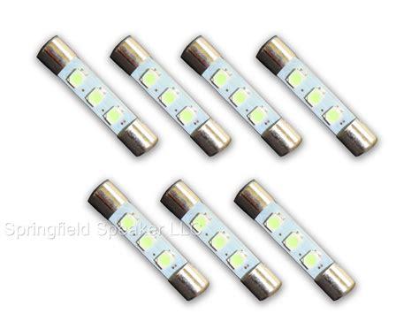 fuse bulbs for lights 7 cool blue 8v led l fuse type light bulbs fits marantz