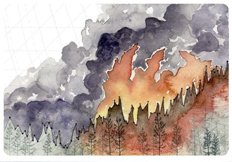 what is chagne made of painter captures the data of climate change in 7 stunning