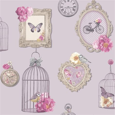 shabby chic wall paper shabby chic floral wallpaper in various designs wall decor new