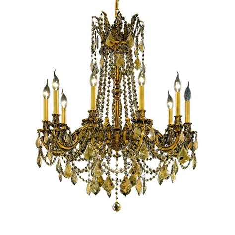 and gold chandelier lighting 1 light gold chandelier with clear 1205d12fg rc the