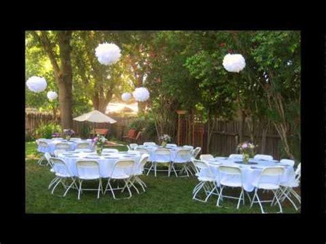 backyard reception ideas backyard wedding reception ideas