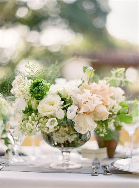 and white centerpieces green and white centerpiece fab mood wedding colours