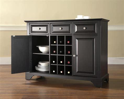 buffet server crosley lafayette buffet server sideboard cabinet with