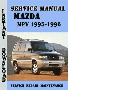 service manual service and repair manuals 1996 mazda mpv seat position control mazda mpv