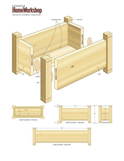 wood planter boxes woodworking plans planter box construction plans plans diy free