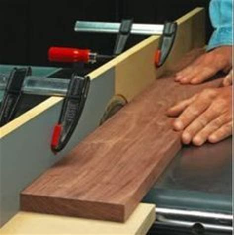woodworking without a table saw table saw jointer jig sacrificial fence made from mdf