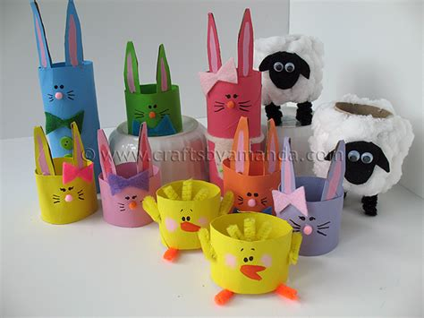 easter toilet paper roll crafts cardboard crafts easter crafts cardboard 11